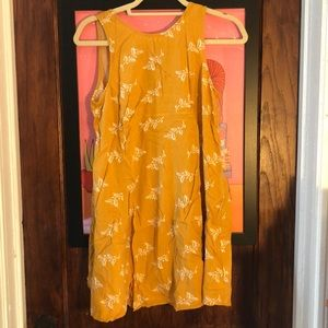 Mustard Yellow sun dress